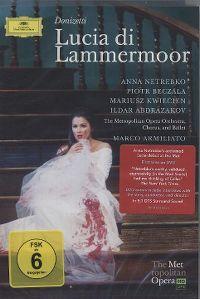 Cover Anna Netrebko - Donizetti - Lucia di Lammermoor [DVD]